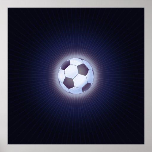 Ballon de football (le football) affiches