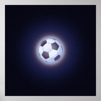 Ballon de football (le football) posters