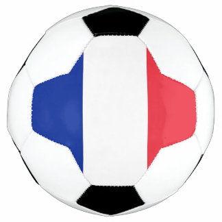 Ballon de football patriotique avec le drapeau de