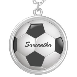 Ballon de football personnalisable du football pendentif rond