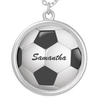 Ballon de football personnalisable du football pendentif rond