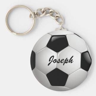 Ballon de football personnalisable du football porte-clé rond