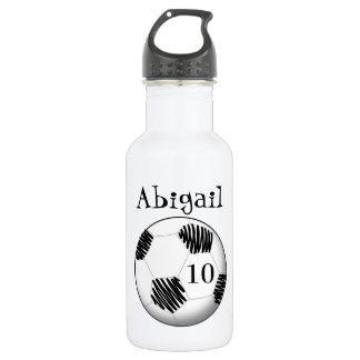 Ballon de football personnalisé de bouteille d'eau