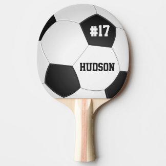 Ballon de football personnalisé raquette de ping pong