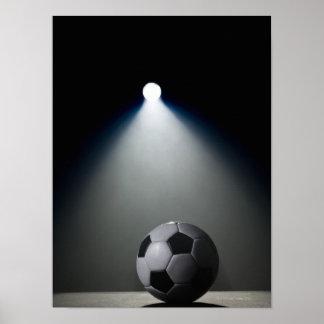 Ballon de football poster