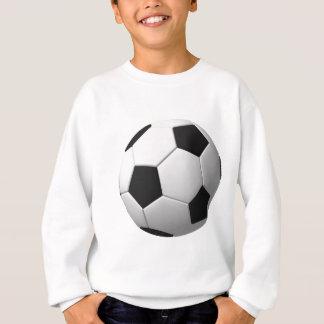 Ballon de football : sweatshirt
