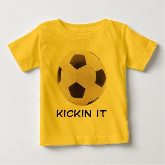 Ballon de football t-shirt pour bébé