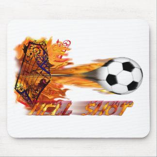 Ballon de football tapis de souris