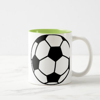 Ballon de football tasse 2 couleurs
