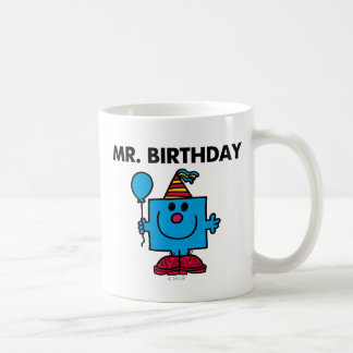 Ballon de joyeux anniversaire de M. Birthday | Mug