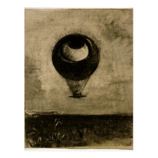 Ballon d'oeil carte postale