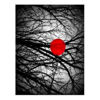 Ballon rouge carte postale