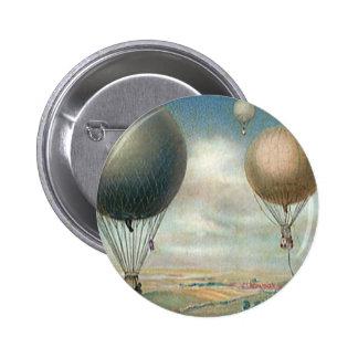 Ballons à air chauds de transport vintage, badges