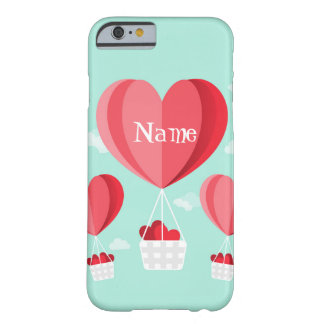 Ballons à air chauds en forme de coeur coque barely there iPhone 6