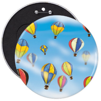 Ballons à air chauds pin's