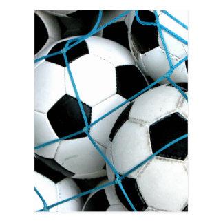 Ballons de football cartes postales