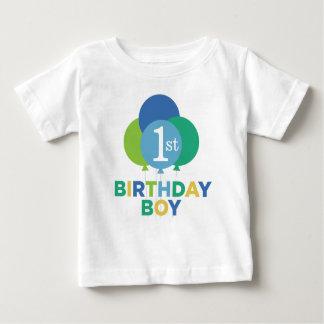 Ballons de vert bleu de la chemise | de garçon t-shirt pour bébé