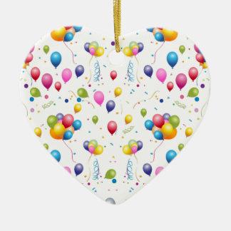 Ballons Ornement Cœur En Céramique