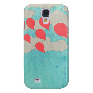 Ballons rouges coque galaxy s4