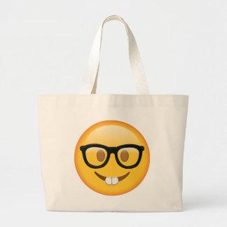 Ballot avec des verres - Emoji Grand Tote Bag