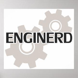 Ballot d ingénieur d Enginerd Affiches