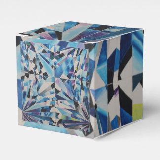 Ballotin 2x2 classique de diamant en verre ballotins