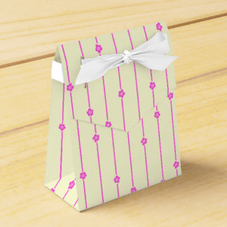 Ballotin de fleurs de mur boites faveurs de mariage
