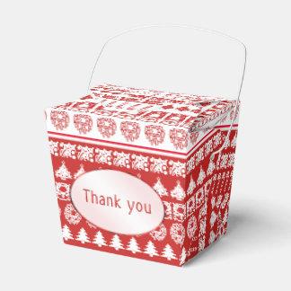 Ballotins Amusement blanc/rouge de Merci de Noël d'image de