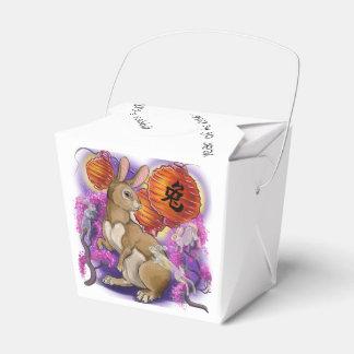 Ballotins Année chinoise de zodiaque du lapin