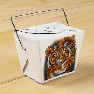 Ballotins Année chinoise de zodiaque du tigre