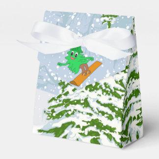Ballotins arbre de Noël de snowboarding