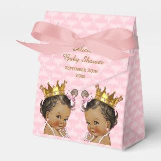 Ballotins Baby shower de Pink ethnique de princesse Twins