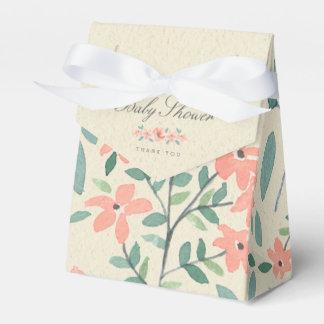 Ballotins Baby shower floral vintage de livre de contes du