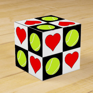 Ballotins Balles de tennis et boîte-cadeau du joueur de