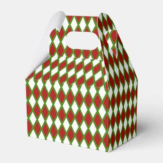 Ballotins Ballotin blanc et vert rouge de vacances de