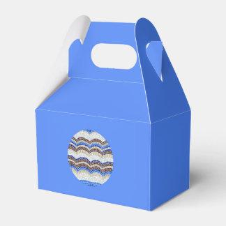 Ballotins Ballotin bleu rond de pignon de mosaïque