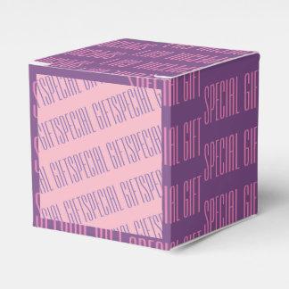 Ballotins Ballotin de papier rose pourpre de cadeau spécial