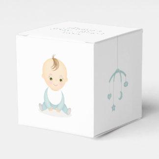 Ballotins Bébé mignon et son baby shower mobile