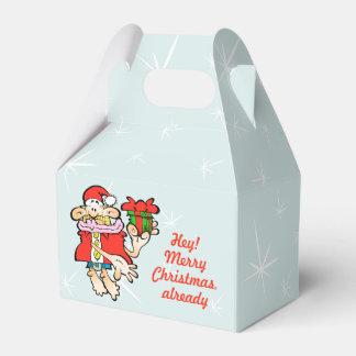 Ballotins Boîte absurde à sucrerie de Noël de Père Noël