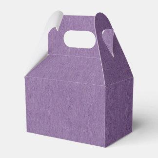 Ballotins Boîte-cadeau de faveur avec les textiles naturels