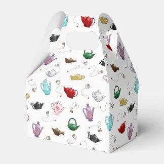 Ballotins Boîte-cadeau de motif de théière