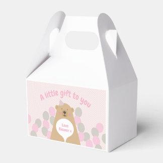 Ballotins Boîte câline mignonne de faveur d'anniversaire