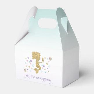 Ballotins Boîte de cadeau d'anniversaire de sirène sous la