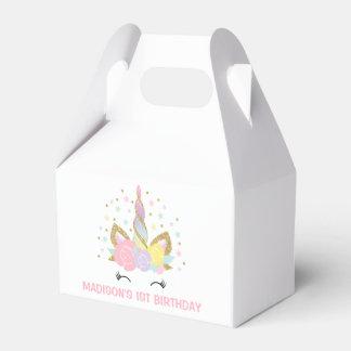 Ballotins Boîte magique de cadeau d'anniversaire de licorne