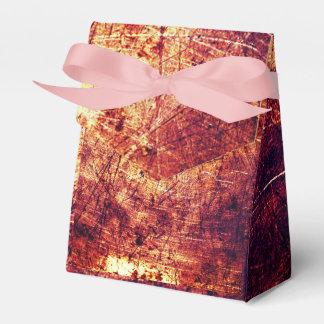 Ballotins Boîte texturisée d'arrière - plan de brun frais de