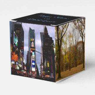Ballotins Boîtes personnalisées par boîte-cadeau de New York