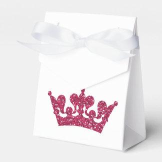 Ballotins Boîtes royales roses de partie de princesse