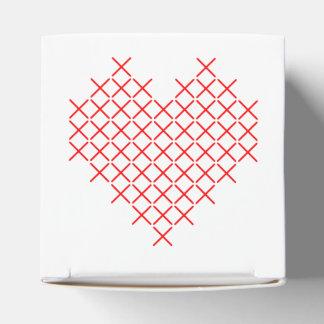 Ballotins Coeur de point de Croix-Rouge