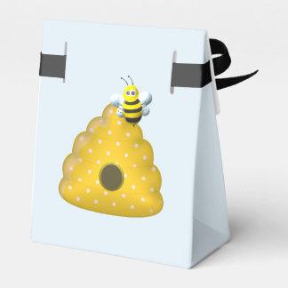 Ballotins Cool d'abeille avec la ruche d'abeille