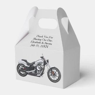 Ballotins de mariage de moto